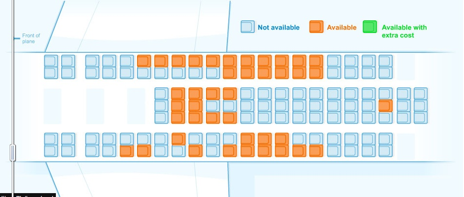 Should Airlines Show You All Available Seats On A Flight